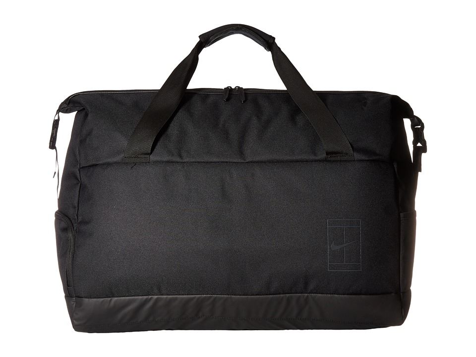 Nike Court Advantage Tennis Duffel Bag (Black/Black/Anthr...