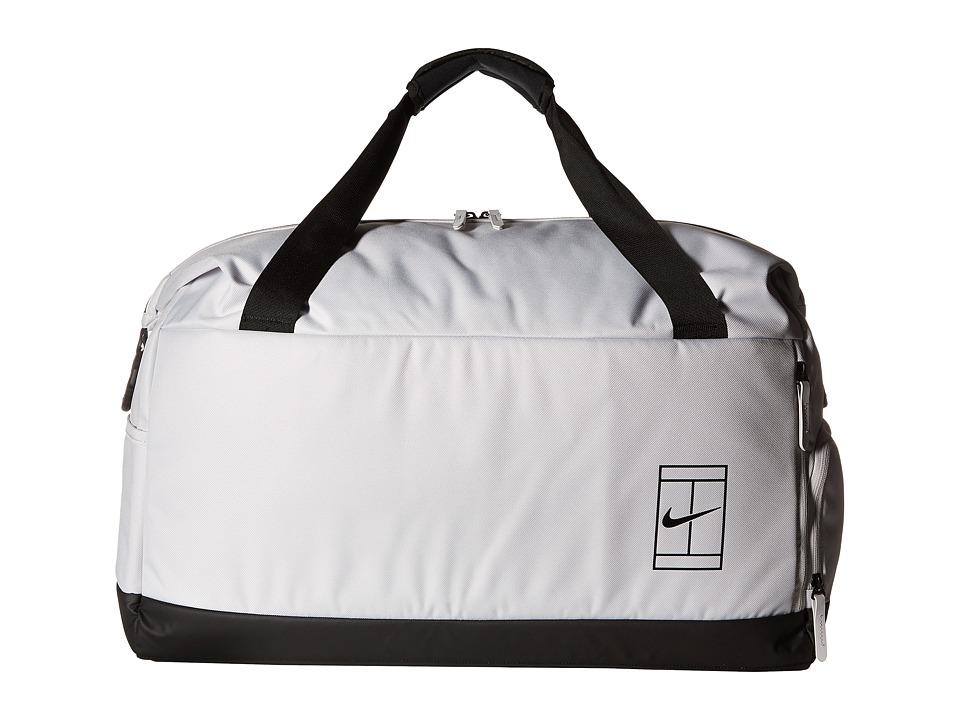 Nike Court Advantage Tennis Duffel Bag (Vast Grey/Black/B...