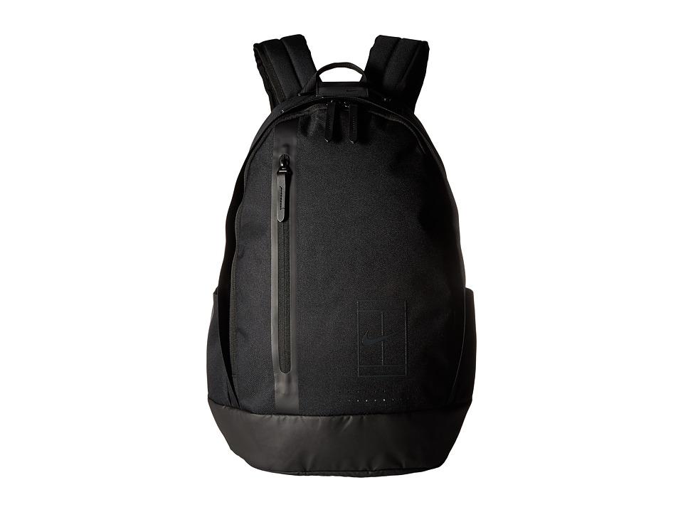 Nike - Court Advantage Tennis Backpack (Black/Black/Anthracite) Backpack Bags