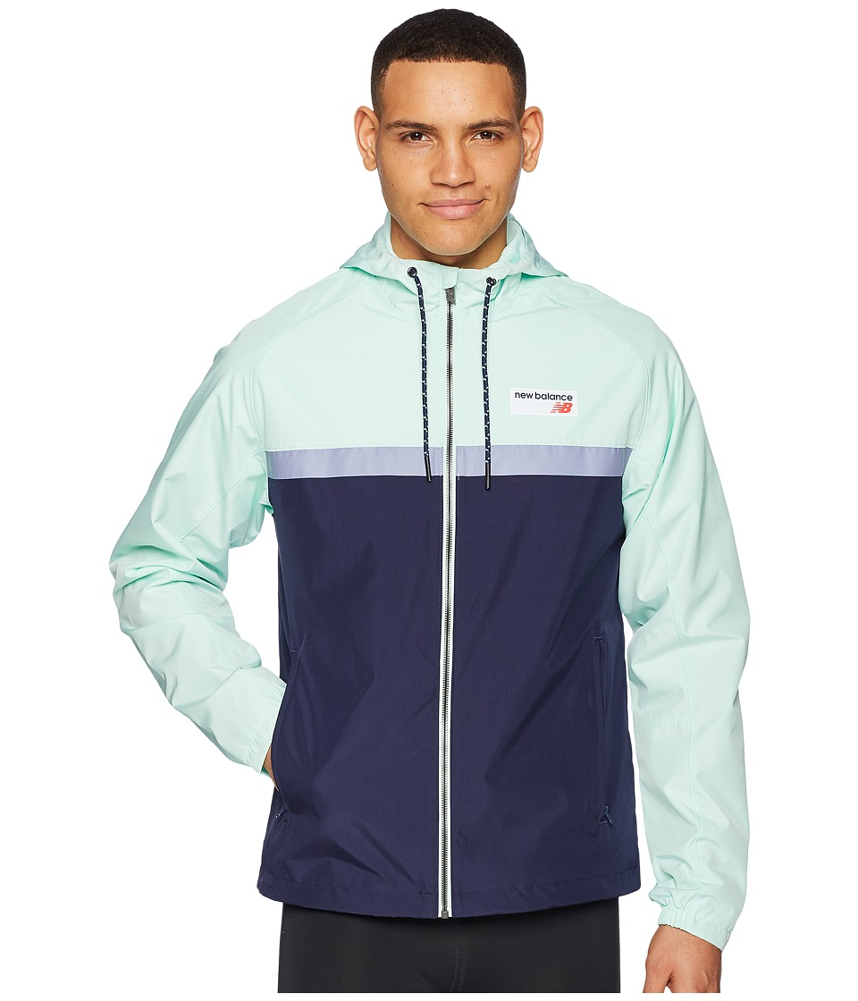 New Balance - NB Athletics 78 Jacket (Seafoam) Mens Coat