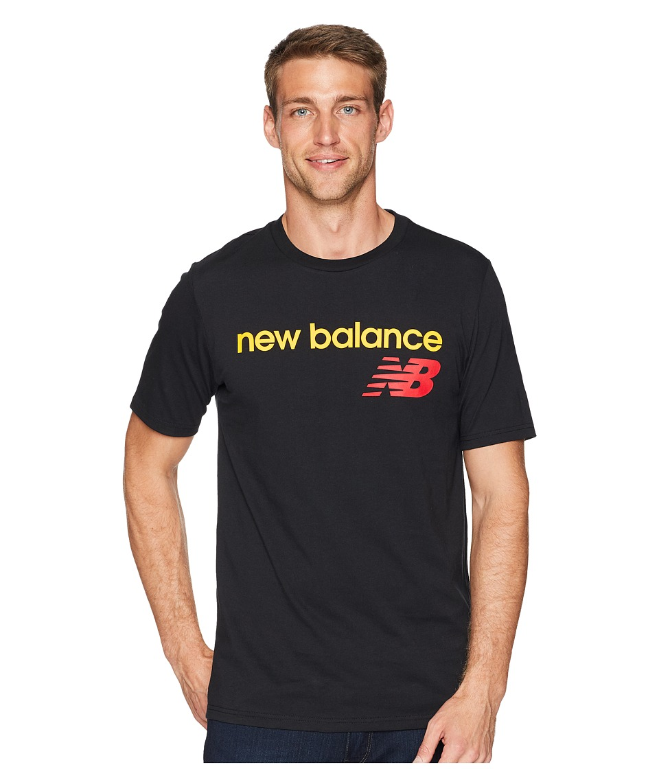 New Balance NB Athletics WC Tee (Black) Men