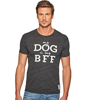 The Original Retro Brand - My Dog Is My BFF Short Sleeve Tri-Blend Tee