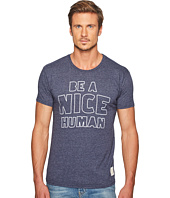 The Original Retro Brand - Be A Nice Human Short Sleeve Tri-Blend Tee