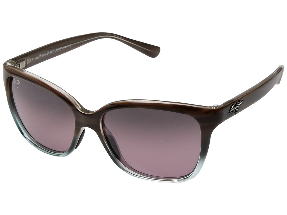 Maui Jim - Starfish (Sandstone/Blue/Maui Rose) Athletic Performance Sport Sunglasses