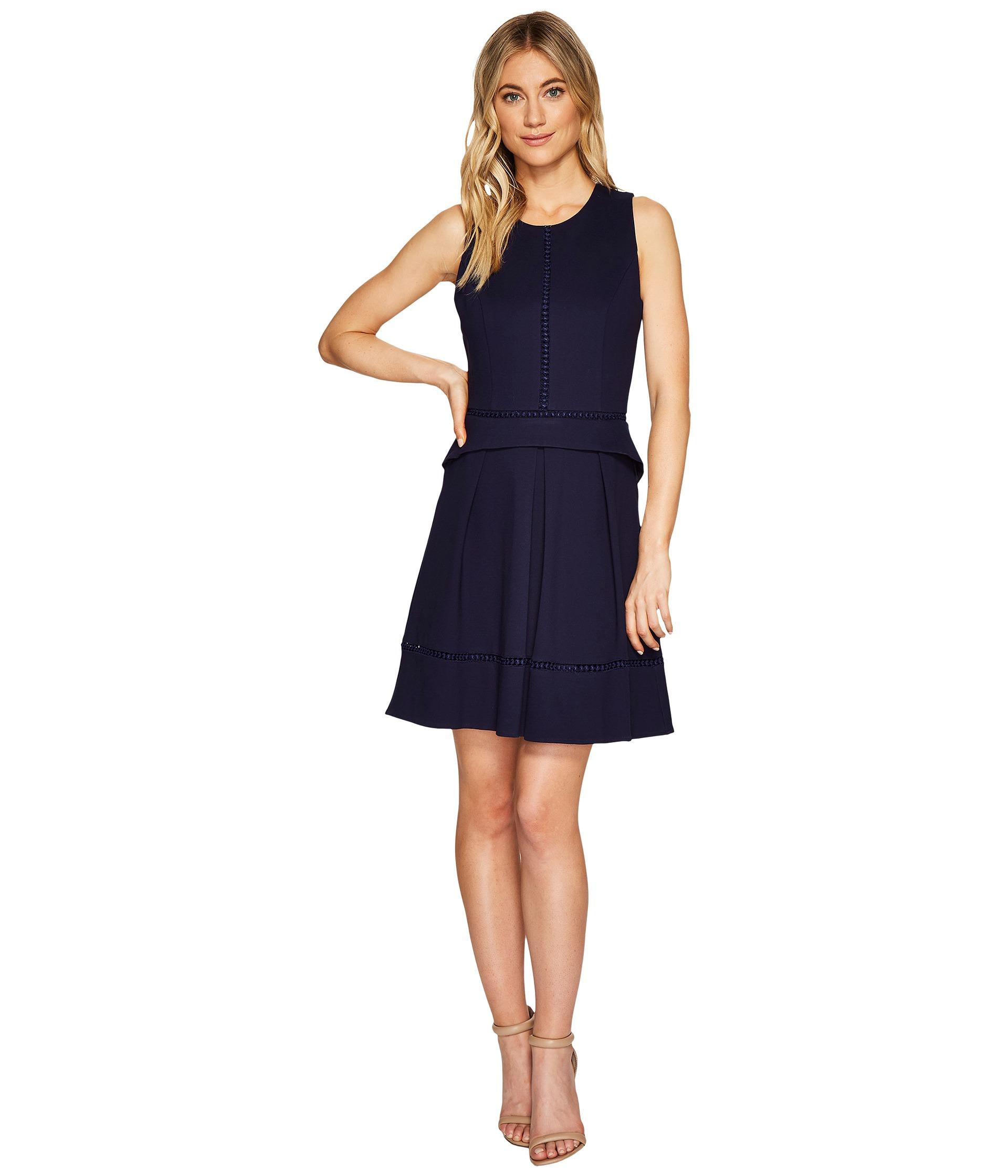 Adelyn Rae Hadyn Fit Amp Flare Dress At Zappos Com