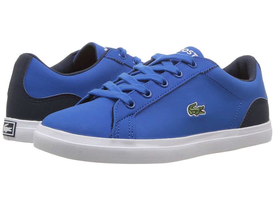 Lacoste Kids Lerond 417 1 (Little Kid) (Blue) Kid's Shoes