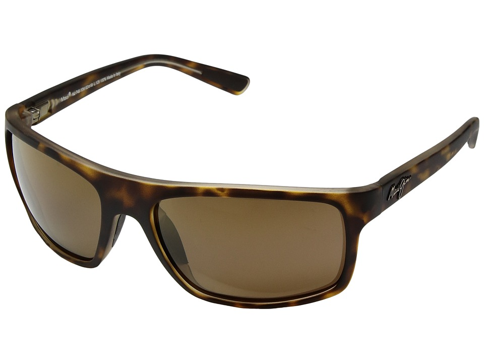 Maui Jim - Byron Bay (Matte Tortoise/HCL Bronze) Athletic Performance Sport Sunglasses