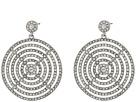 LAUREN Ralph Lauren Gradual Pave Disc Drop Earrings