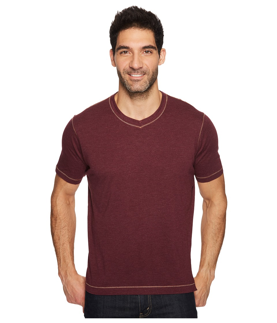 Robert Graham Traveler Tee (Heather Berry) Men