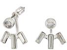LAUREN Ralph Lauren Baguette Front-Back Stone Earrings