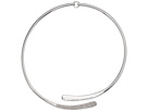 LAUREN Ralph Lauren Minimal Metal Silver and Pave Open Collar Necklace