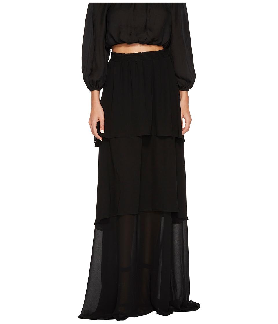 Show Me Your Mumu Karla Convertible Skirt Dress (Black Chiffon) Women