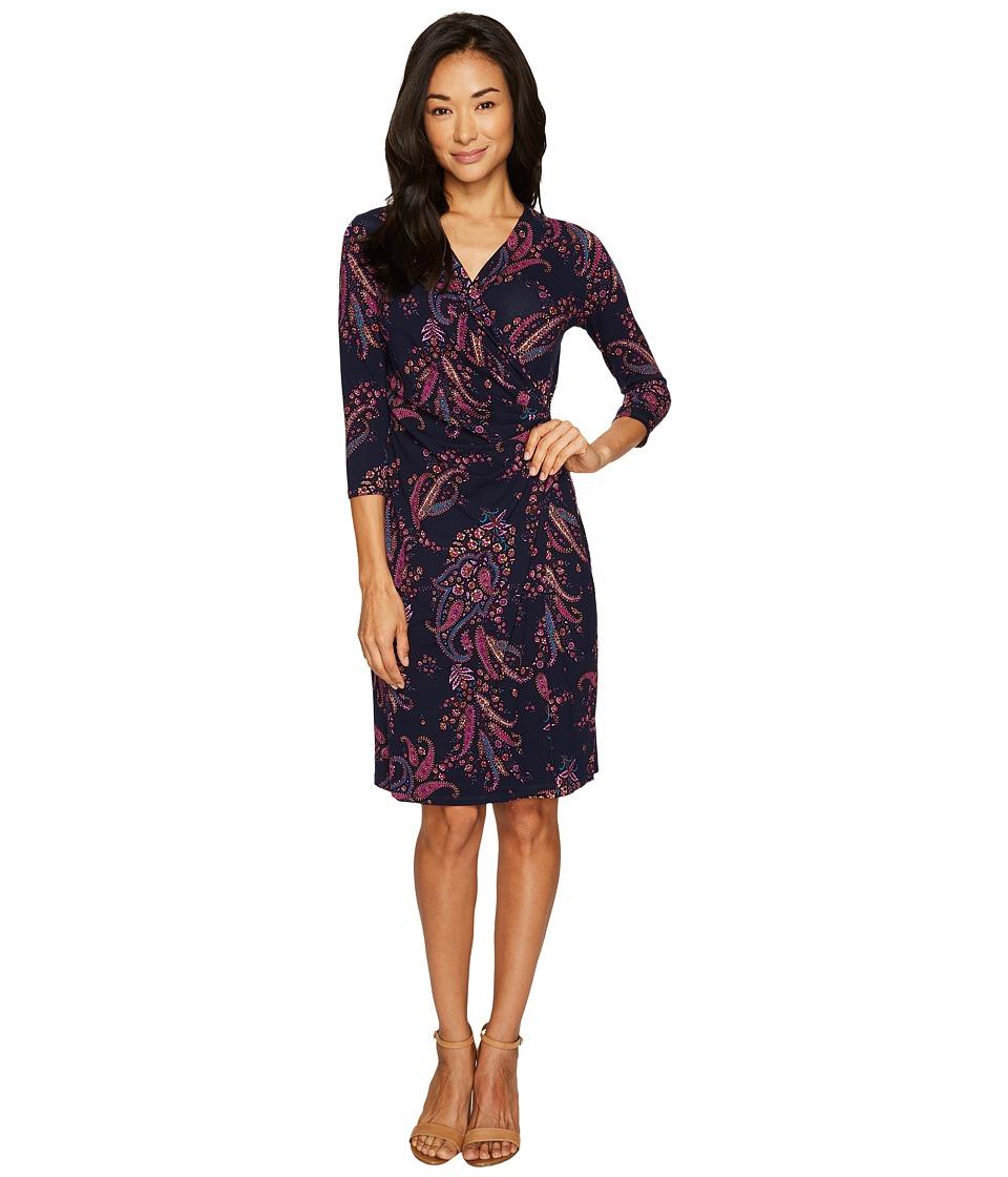 Tommy Bahama Paisley Daze Short Dress (Ocean Deep) Women