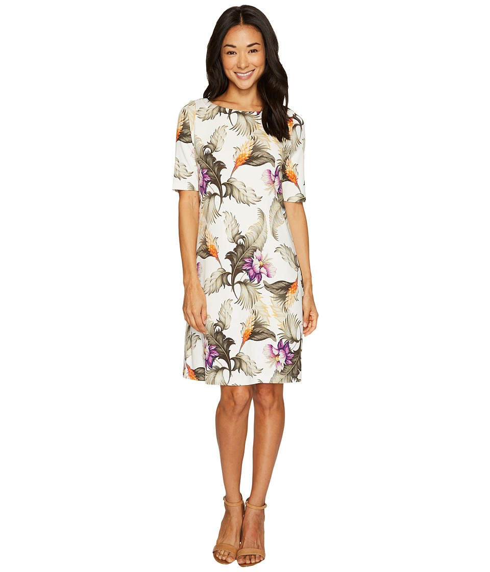 Tommy Bahama Palms of Persia Short Dress (French Creme) Women