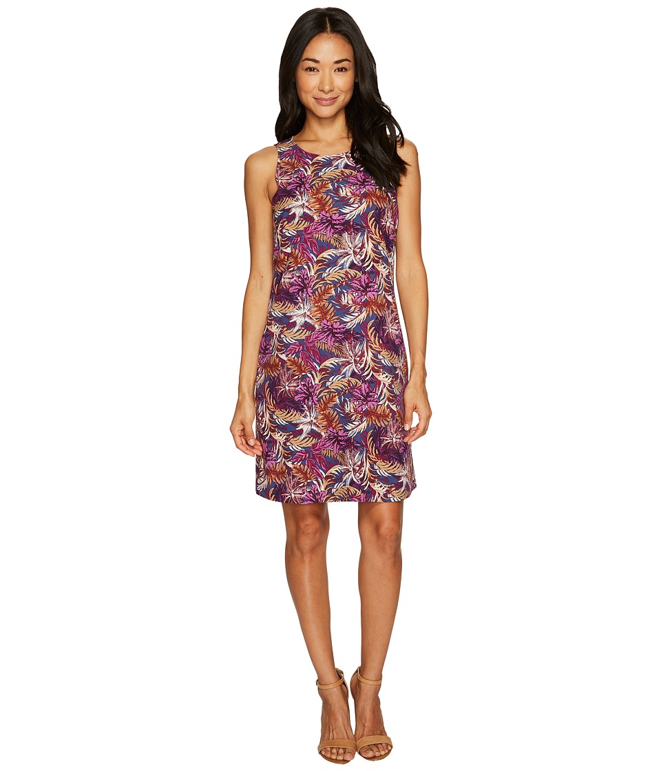 Tommy Bahama Ta-Leaf-A Short Shift Dress (Eclipse) Women
