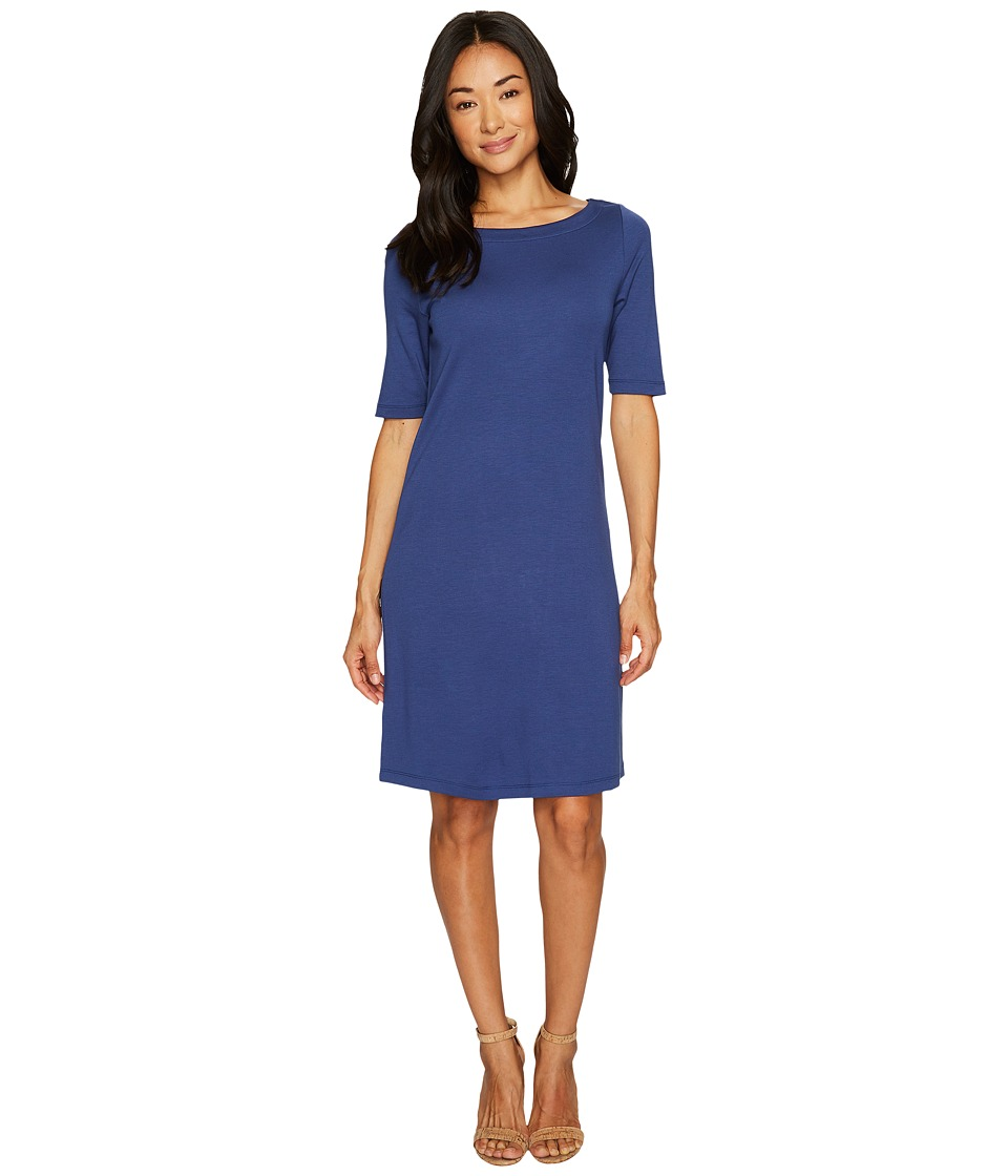 Tommy Bahama Drapey Ponte Short Dress (Eclipse) Women
