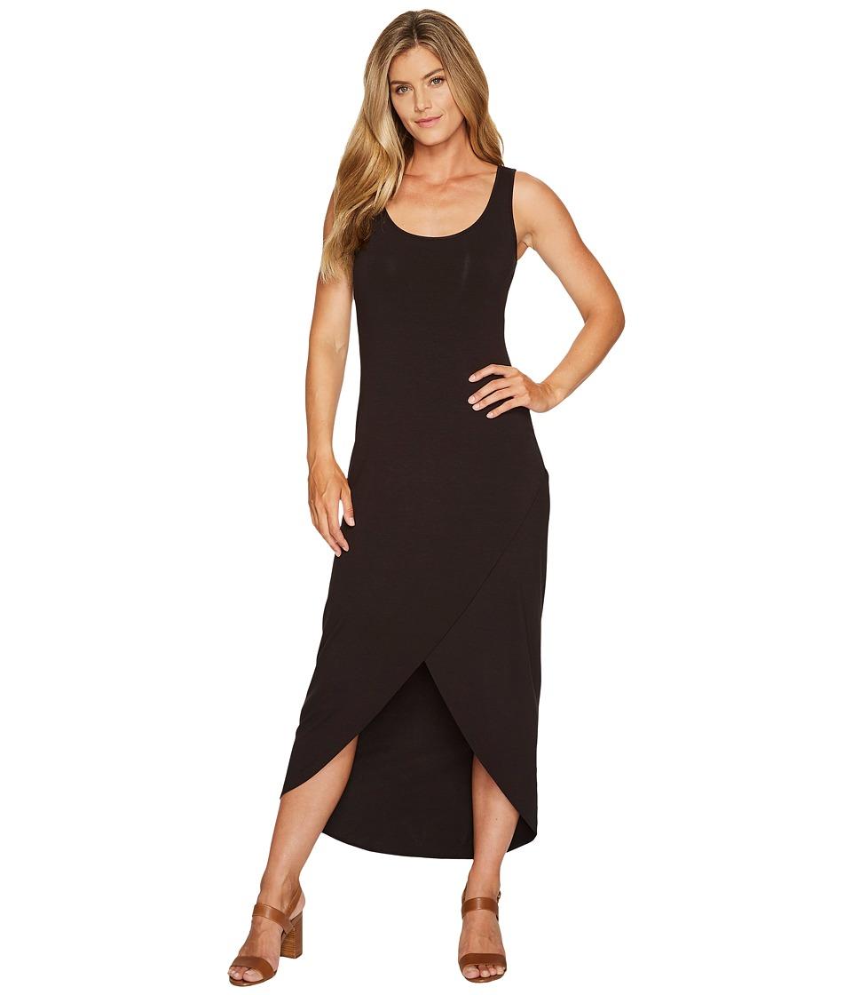 Tommy Bahama Tambour Tulip Hem Maxi Dress (Black) Women