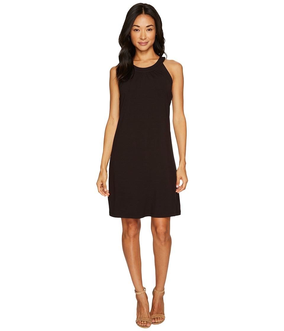 Tommy Bahama Tambour Sleeveless Short Dress (Black) Women