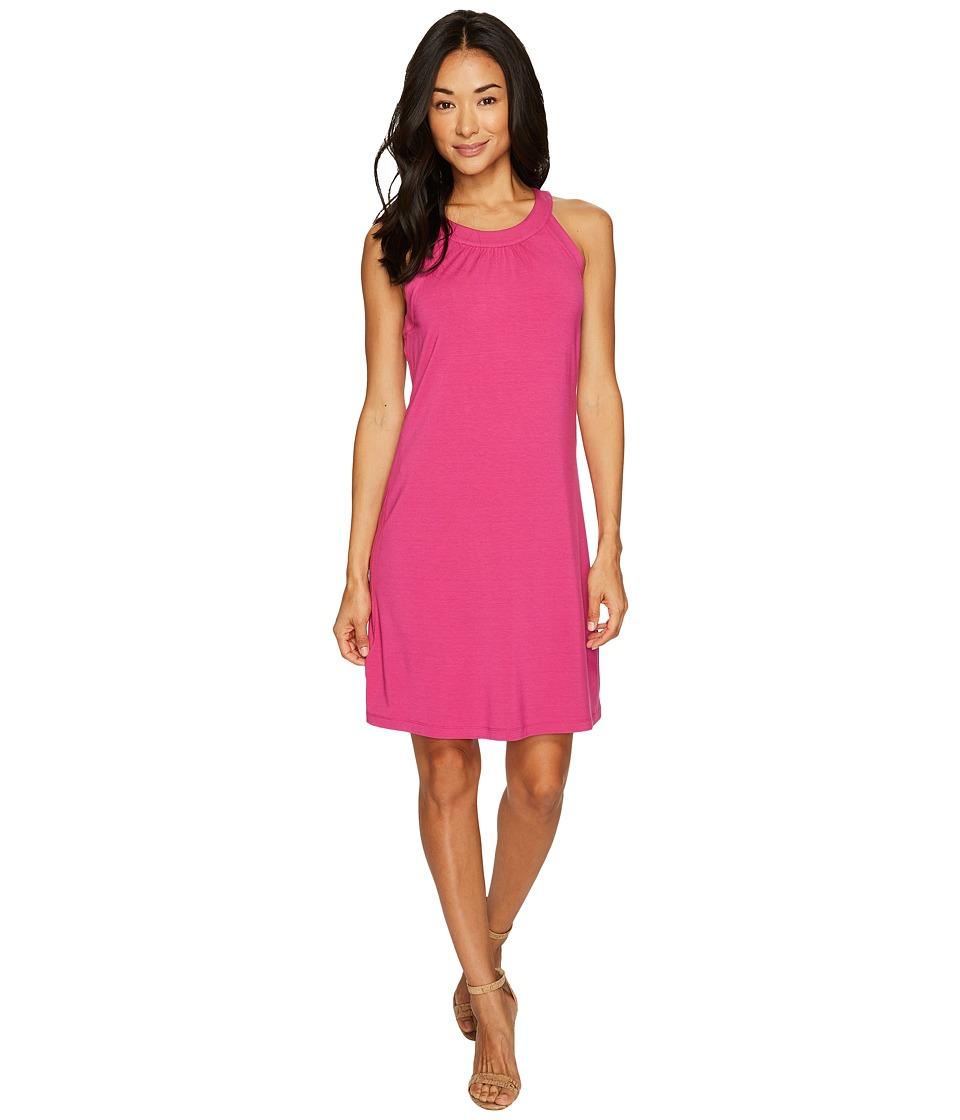 Tommy Bahama Tambour Sleeveless Short Dress (Fuchsia Red) Women