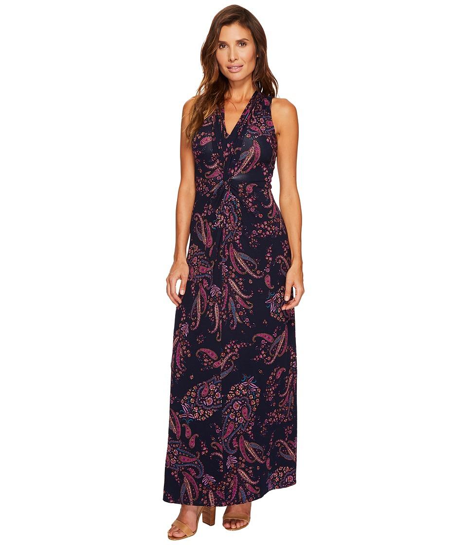 Tommy Bahama Paisley Daze Sleeveless Maxi Dress (Ocean Deep) Women