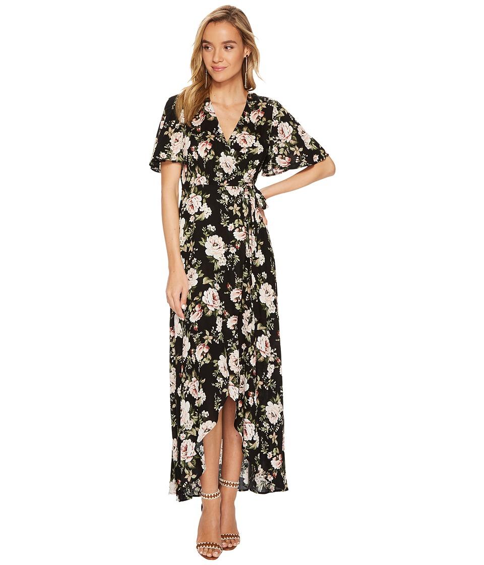Show Me Your Mumu Marianne Wrap Dress (Courtney Loves Roses) Women