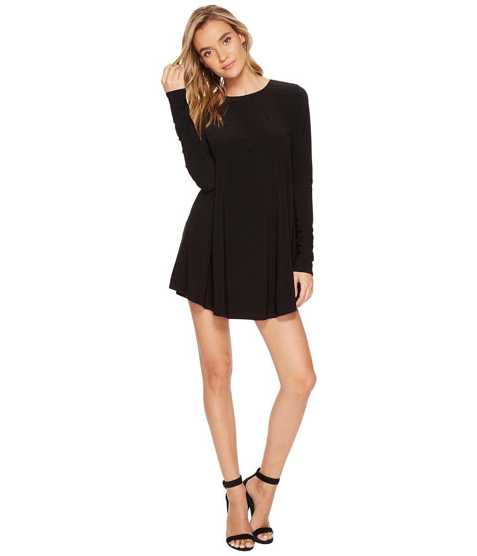 Show Me Your Mumu Tyler Tunic Dress (Black Spandy) Women