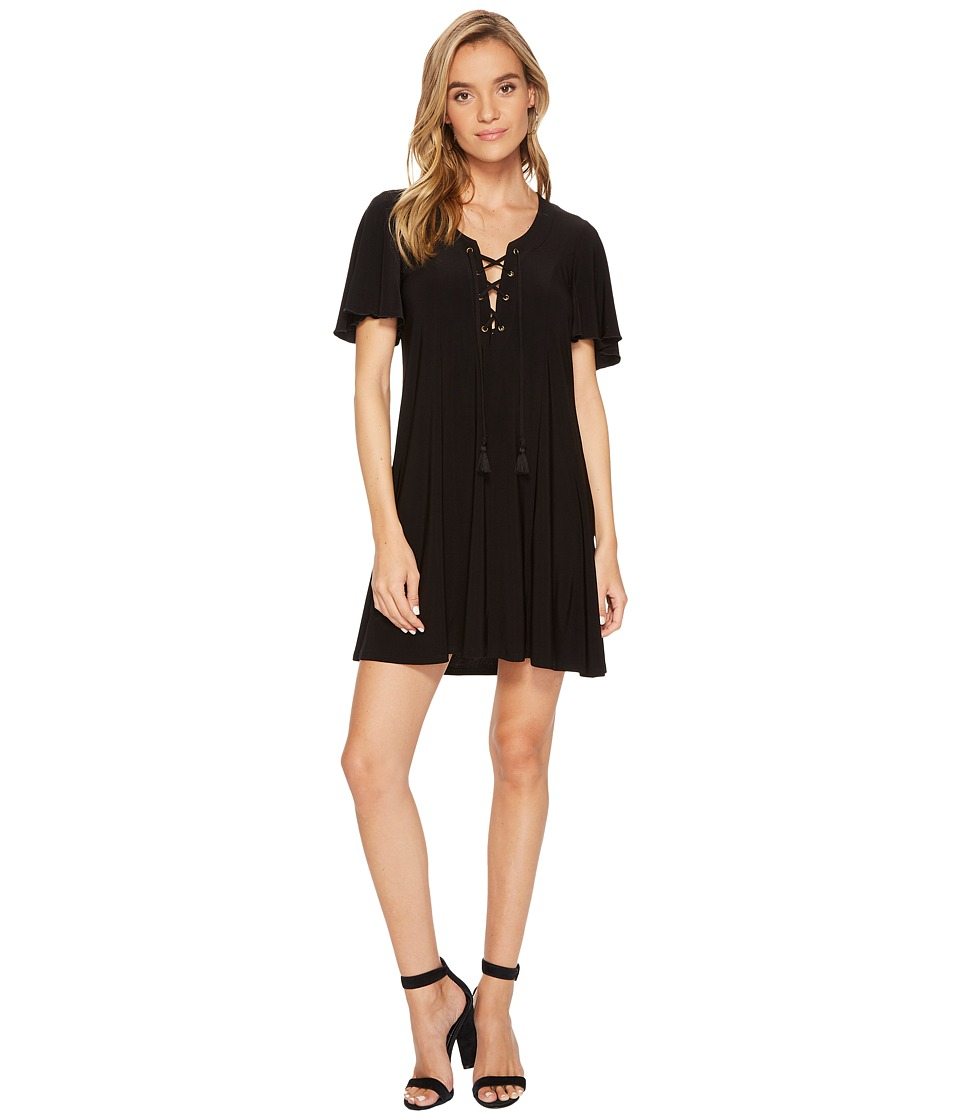 Show Me Your Mumu Matilda Mini Dress (Black Spandy) Women