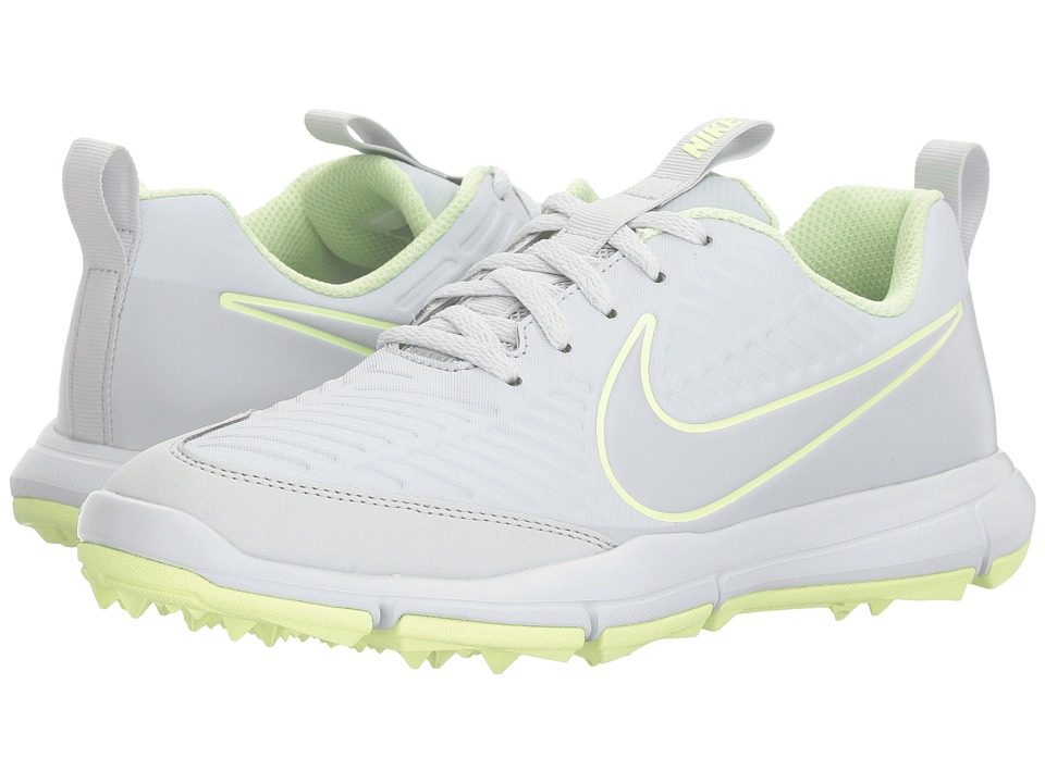 Nike Golf Explorer 2 (Pure Platinum/Pure Platinum/Barely Volt) Women's Shoes