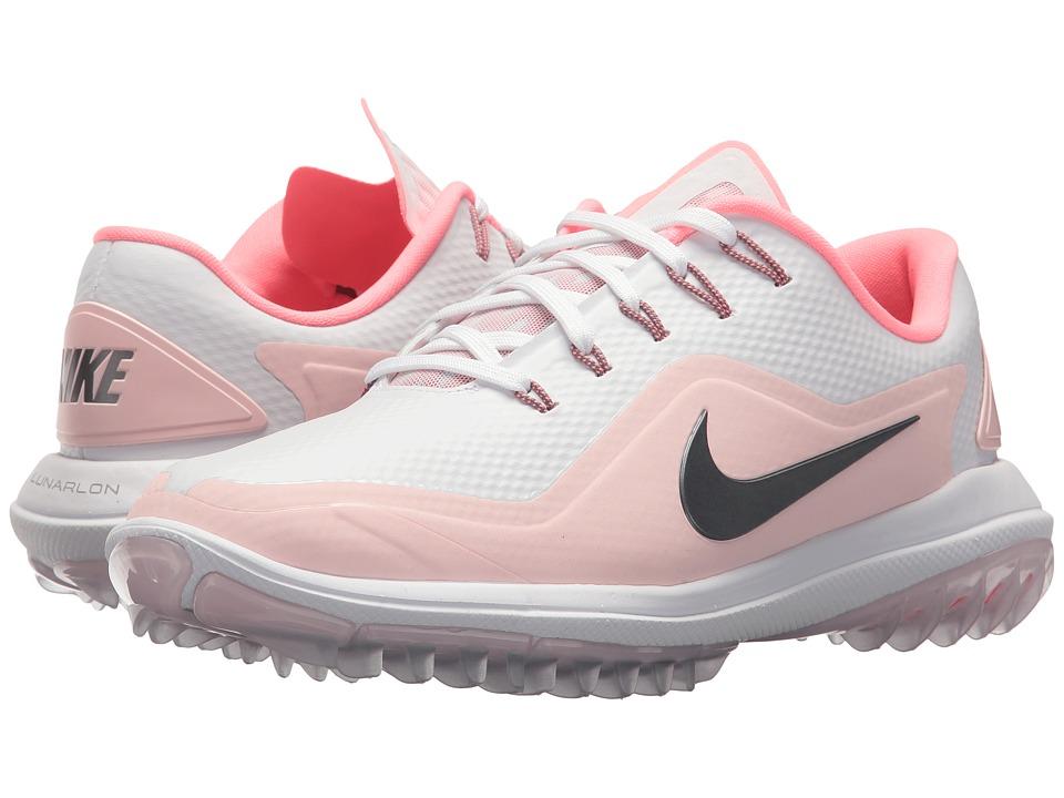f5f5329d83 ... Shoe Nike Golf - Lunar Control Vapor 2 (White Metallic Cool Grey Arctic  Pink ...