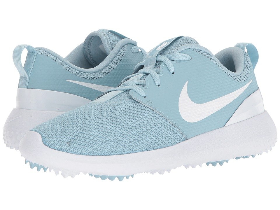 Nike Golf Roshe G (Ocean Bliss/White) Women's Golf Shoes