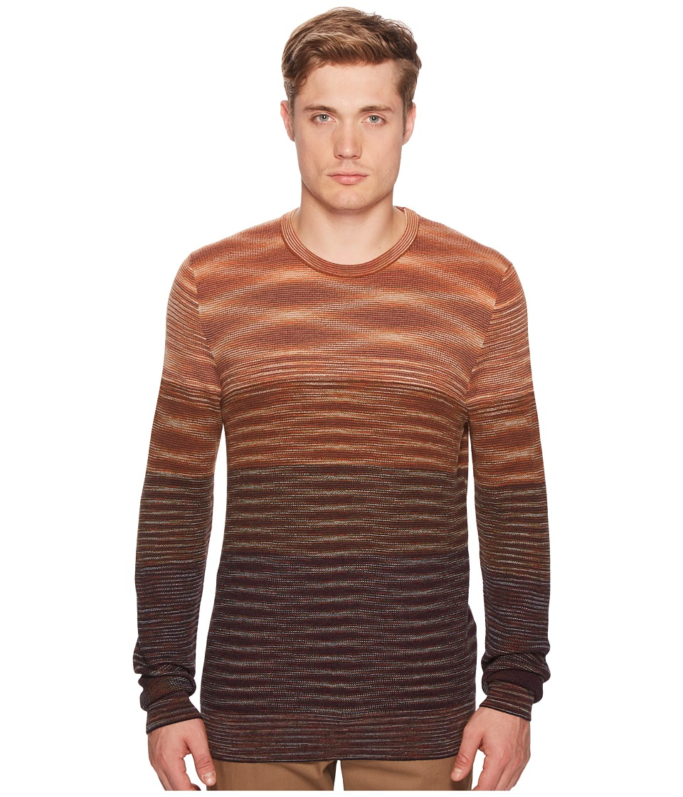 Missoni - Waffle Knit Sweater (Sunset) Mens Sweater