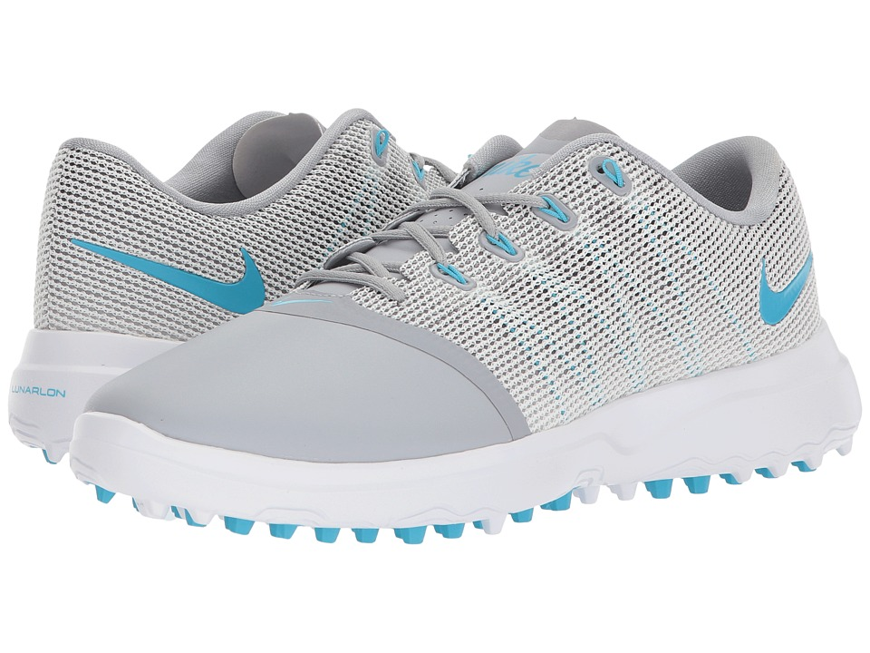 Nike Golf Lunar Empress 2 (Wolf Grey/Blue Fury/White/Black) Women's Golf Shoes