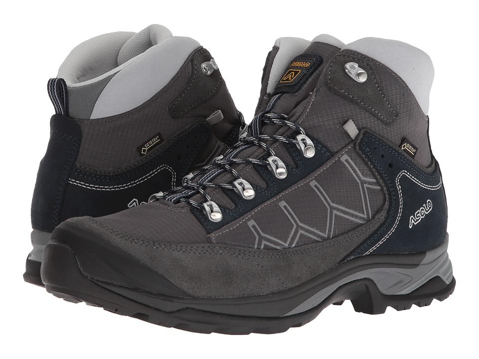 Asolo - Falcon GV MM (Graphite/Graphite/Blueberry) Mens Boots