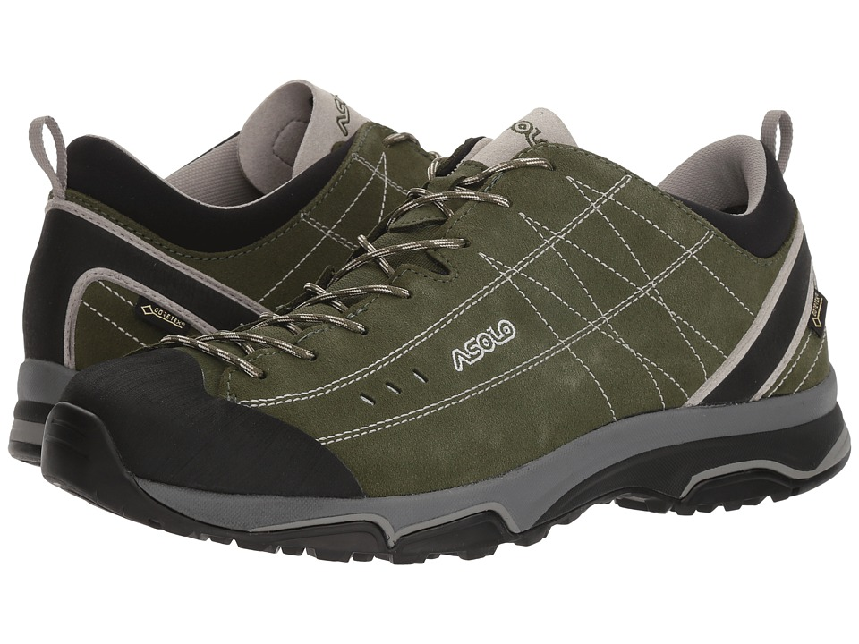 Asolo - Nucleon GV (Rifle Green/Silver) Mens Shoes