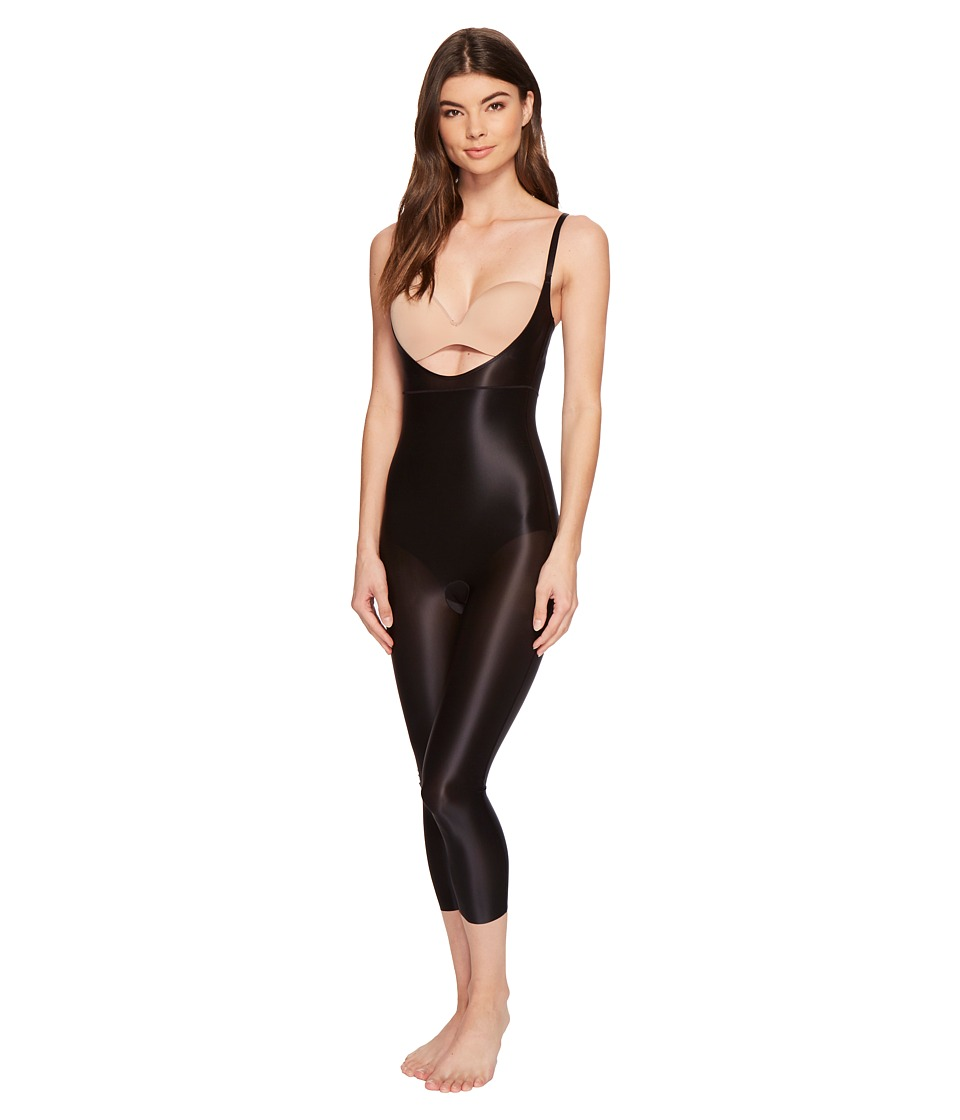 Spanx Suit Your Fancy Open-Bust Catsuit (Very Black) Wome...