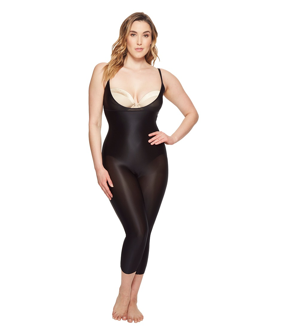 Spanx Plus Size Suit Your Fancy Open-Bust Catsuit (Very B...