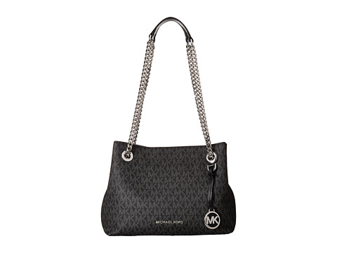 MICHAEL Michael Kors Jet Set Chain Medium Messenger - Black