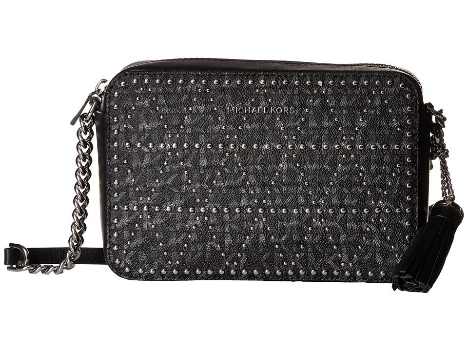MICHAEL Michael Kors Medium Camera Bag (Black) Wallet