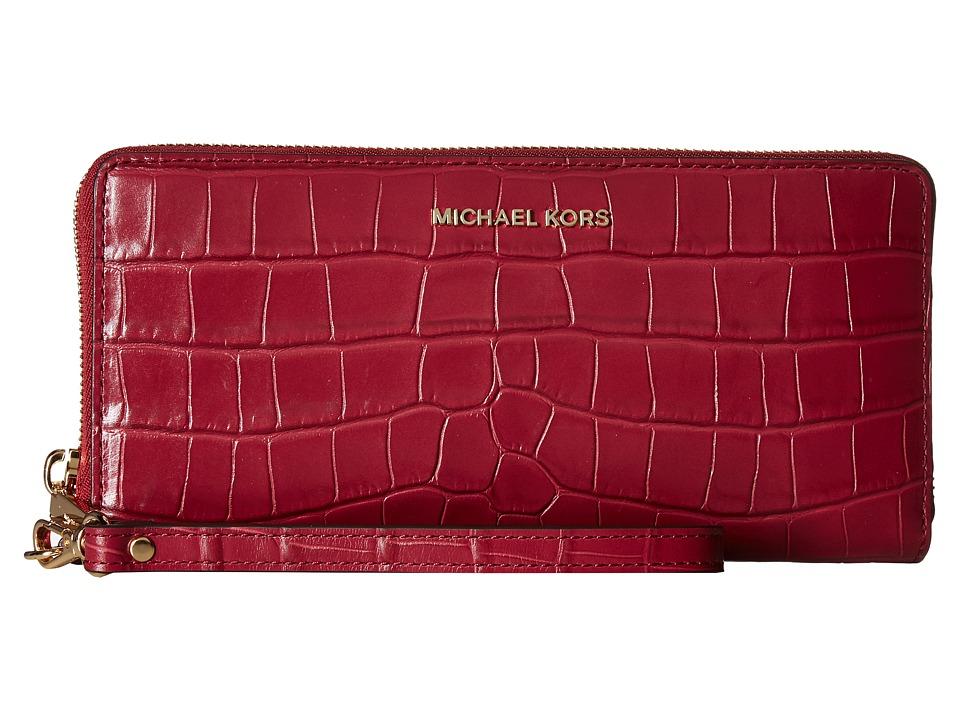 MICHAEL Michael Kors - Travel Continental (Mulberry 1) Handbags