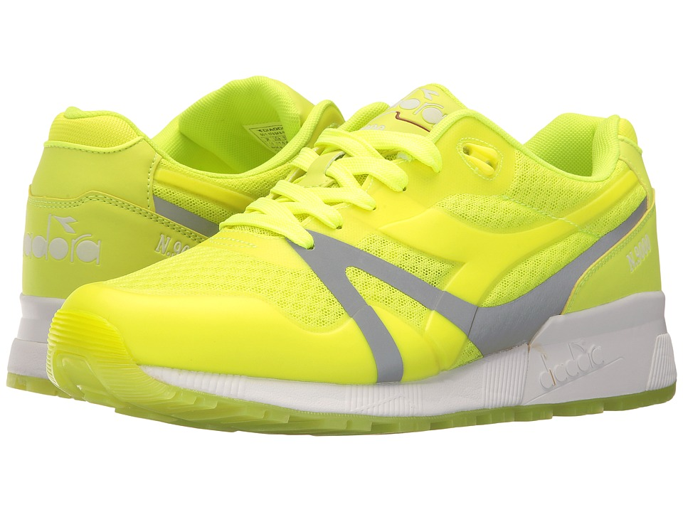Diadora N9000 MM Bright (Yellow Fluo) Athletic Shoes