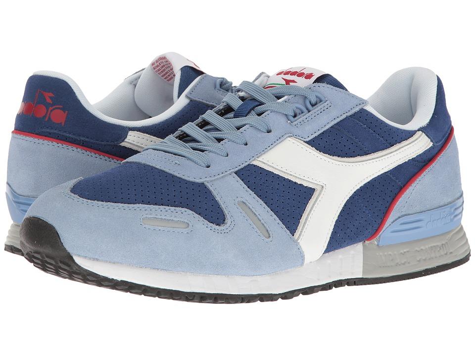 Diadora Titan Premium (Forever Blue/Limoges) Athletic Shoes