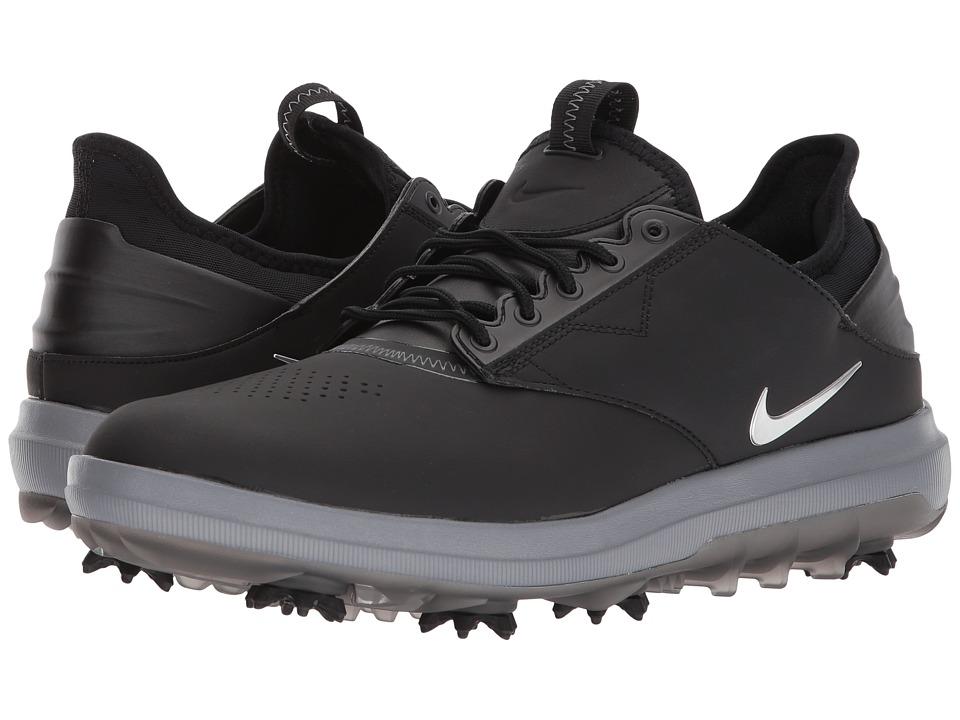 Nike Golf - Air Zoom Direct (Black/Metallic Silver) Men's...