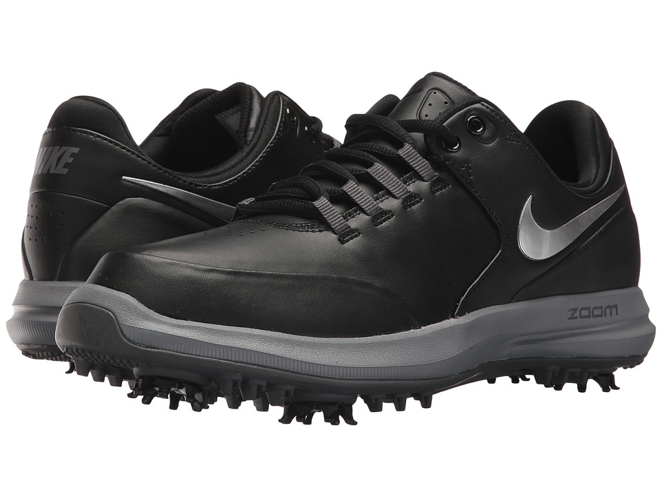 Nike Golf Air Zoom Accurate (Black/Reflect Silver/Dark Grey) Women's Golf Shoes