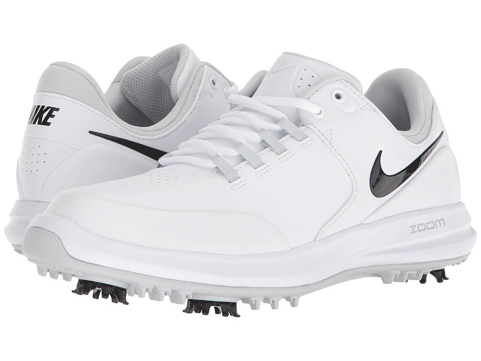 Nike Golf Air Zoom Accurate (White/Black/Metallic Silver/Pure Platinum) Women's Golf Shoes