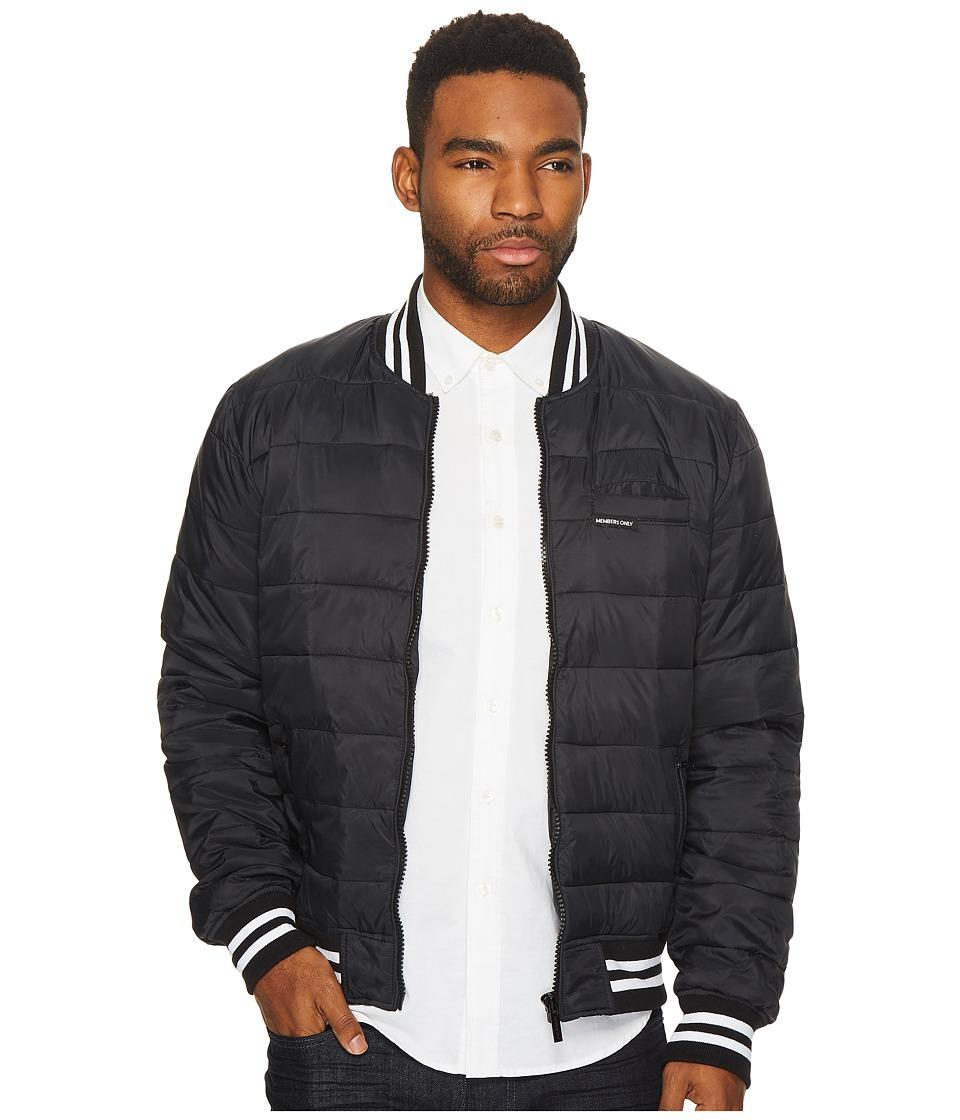 Members Only - Varsity Puffer Jacket