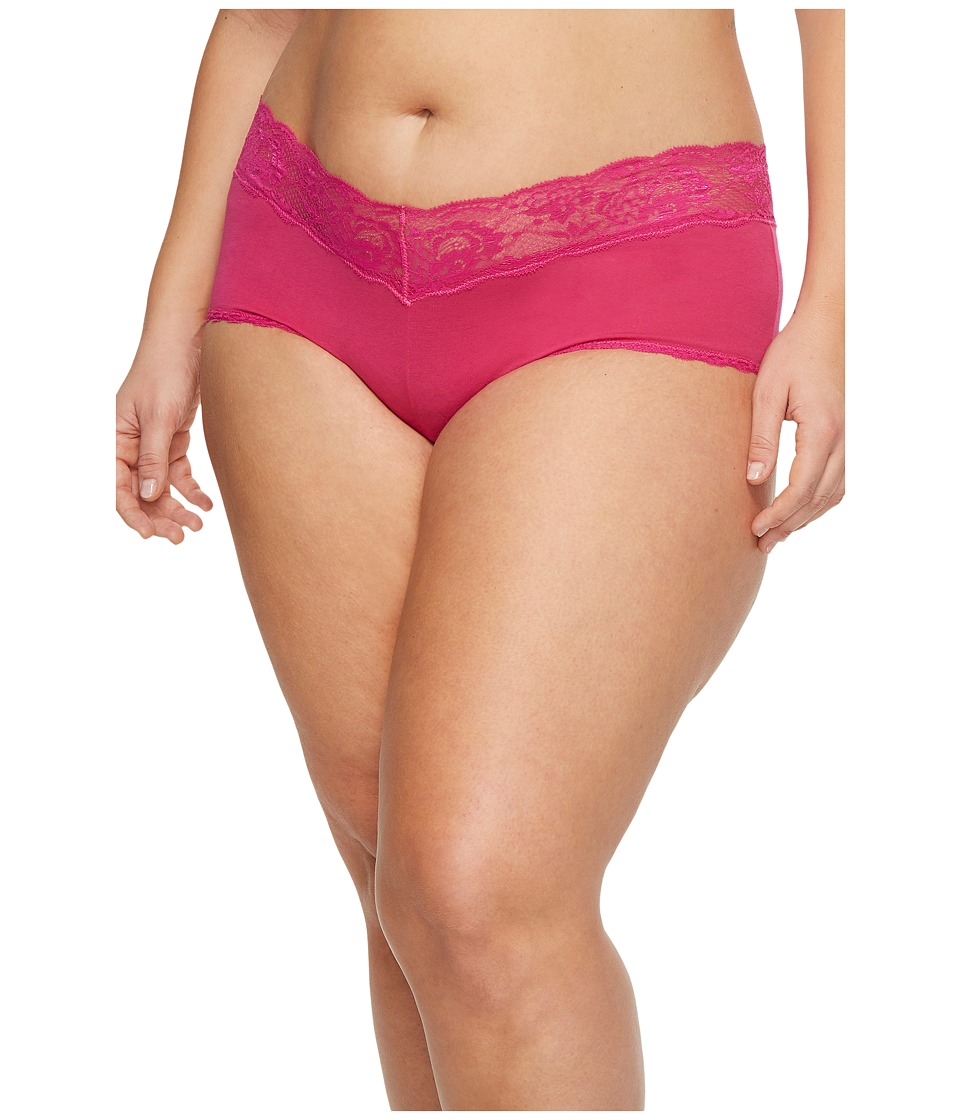 Cosabella Extended Size Never Say Never Cheekie Hotpant (...