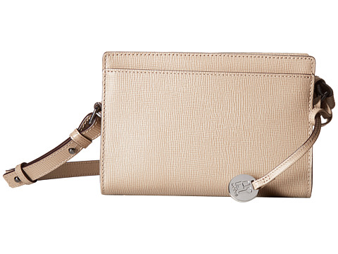 Lodis Accessories Business Chic RFID Pheobe Crossbody - Taupe
