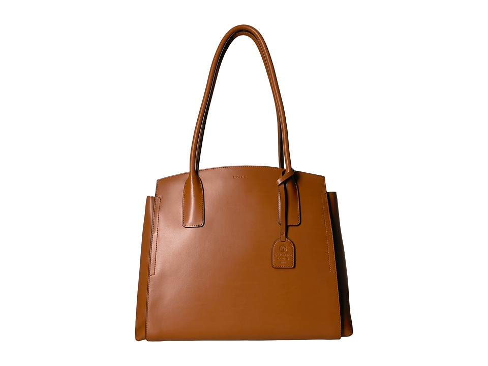 Lodis Accessories - Audrey RFID Zola Tote (Toffee) Tote H...