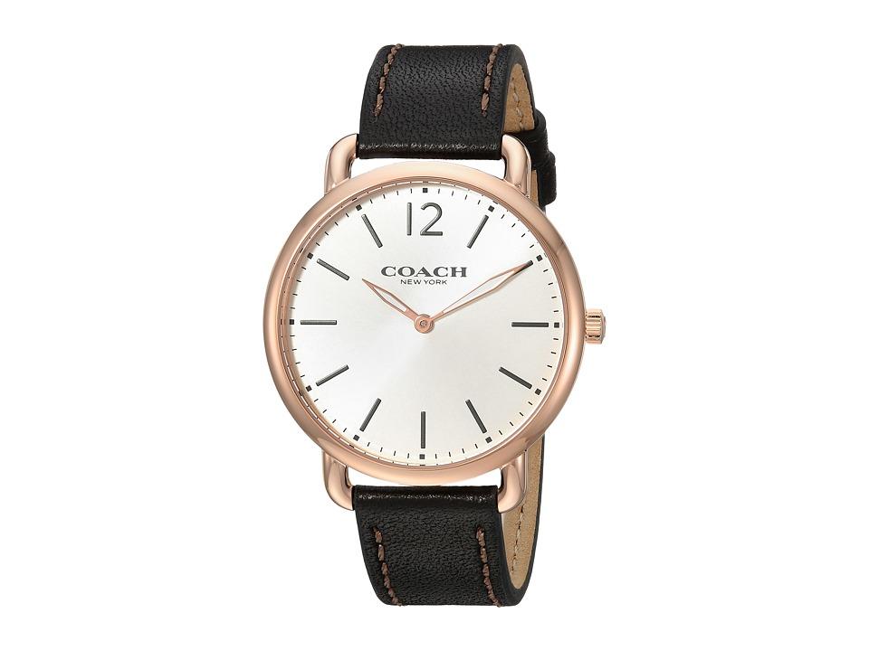COACH - Delancey Slim - 14602347 (Black) Watches