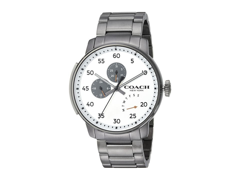 COACH - Bleecker - 14602359 (Silver/White) Watches